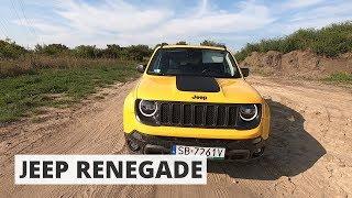 Jeep Renegade Trailhawk - blisko do Wranglera