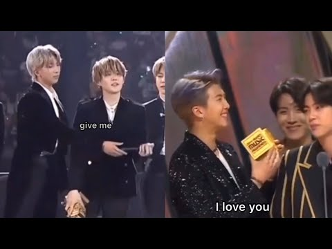award shows but its only namjoon
