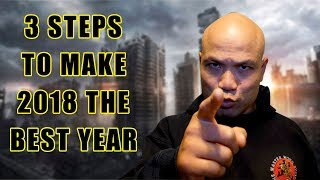 3 Steps to make 2018 the Best Year