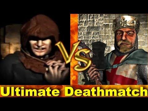 Abbot vs Richard - Ultimate Deathmatch | Stronghold Crusader AI-Battle