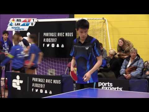 Jeux du Québec – 2017 03 01 – Tennis de Table  1