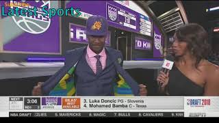 NBA Draft 2018 1st Pick - Deandre Ayton for the Phoenix Suns