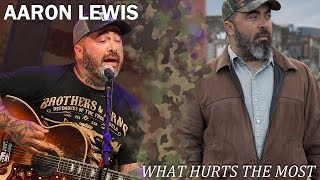 Repeat youtube video Aaron Lewis - What Hurts the Most