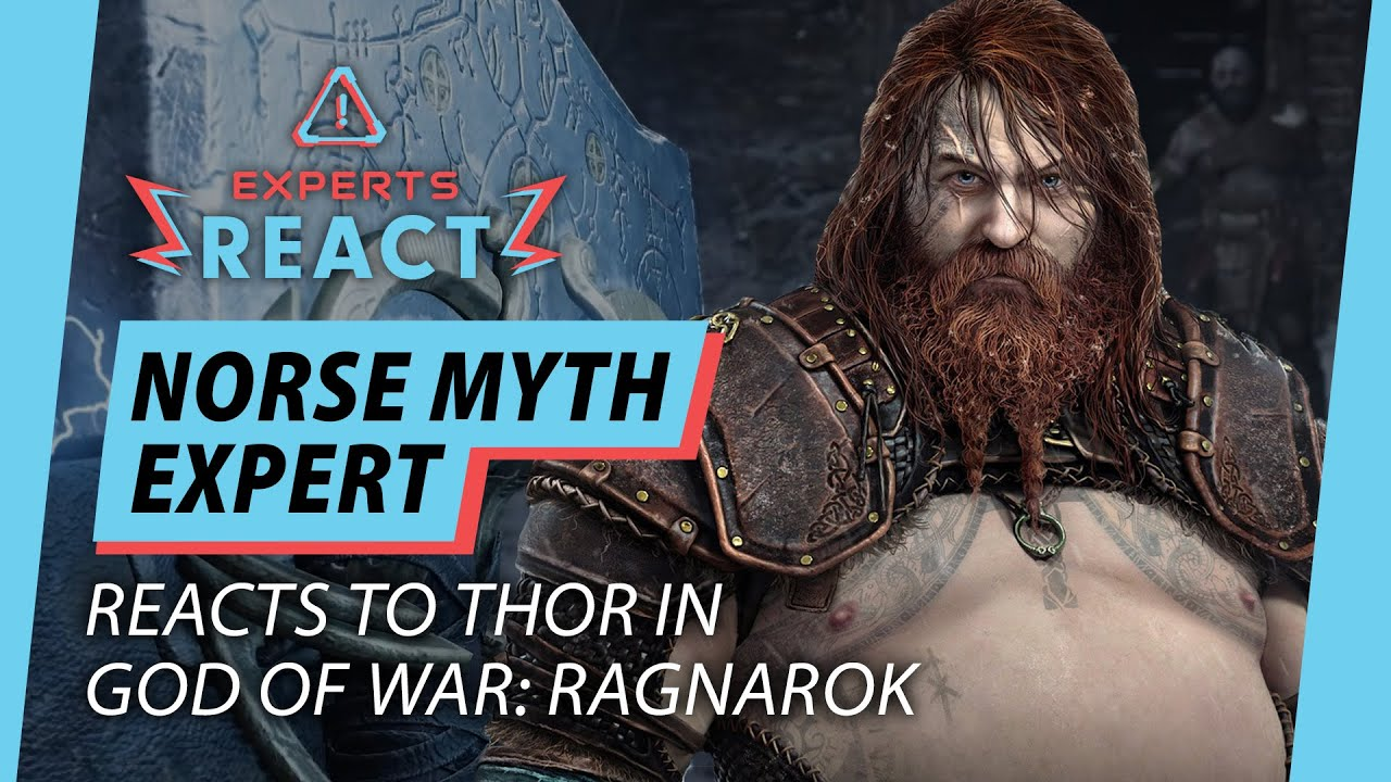 Download Norse Expert Reacts to Thor in God of War: Ragnarok