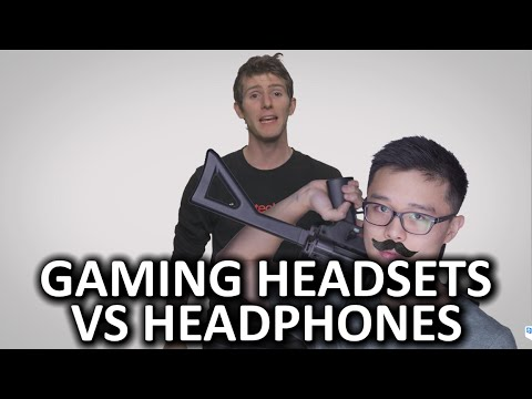 Gaming Headsets vs. Headphones As Fast As Possible