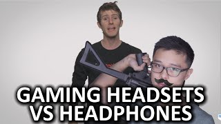 Video Gaming Headsets vs. Headphones As Fast As Possible download MP3, 3GP, MP4, WEBM, AVI, FLV Agustus 2018