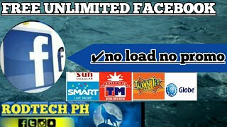 Gambar cover FREE FACEBOOK-NO LOAD NO PROMO (can See the photos without load)2019