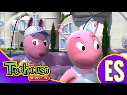 Los Backyardigans: Los Robots Enloquecen: Doble Episodio Para Niños: Compilación de 48 mins