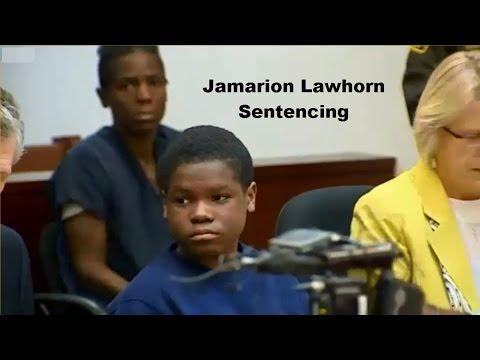Jamarion Lawhorn Trial Sentencing 11/04/15