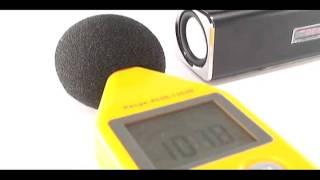 Caixa de som MP3 com rádio