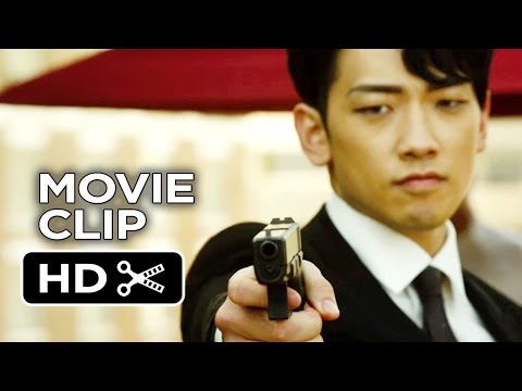 The Prince Movie CLIP - Dead Man In a Pool (2014) - Bruce