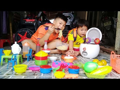 Đồ Chơi Trẻ Em Bé Pin Bữa Cơm Mẹ Nấu ❤ PinPin TV ❤ Baby Toys Rice Mother cook