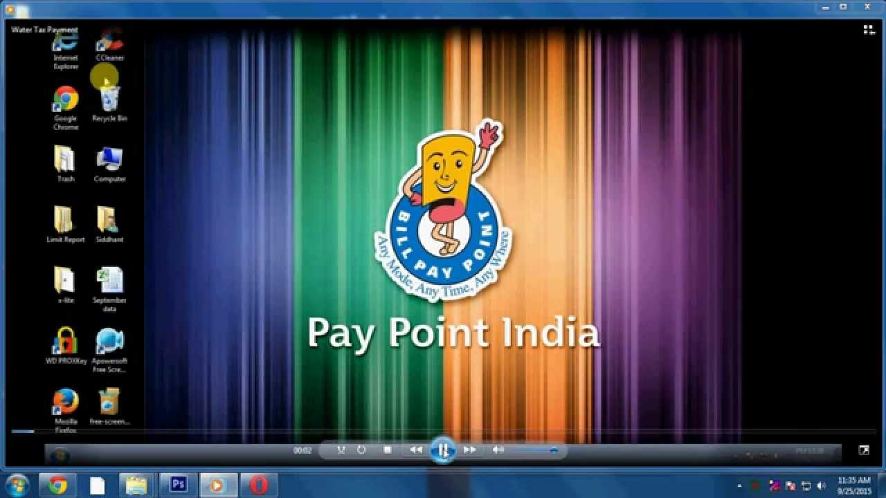 Water Tax Payment - Pay Point India Pvt Ltd