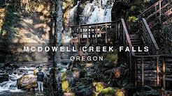 McDowell Creek Falls - Lebanon Oregon