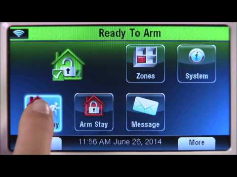 How to Use your L7000 L5210 L5200 Security Systems