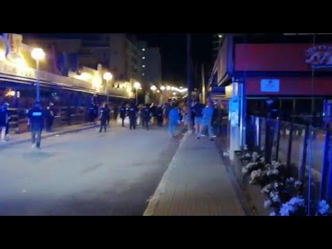 La Policía disuelve varios botellones por tercera noche consecutiva en Palma