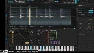 iZotope Iris 2 spectral instrument, VST/AU plugin in Aktion!