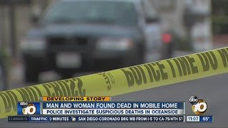 Two bodies found in Oceanside home