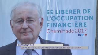 Présidentielle : les militants de Jacques Cheminade mobilisés sur le terrain