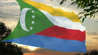 Flag and anthem of the Comoros