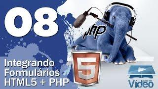 Integração HTML5 + PHP - Curso PHP Iniciante #08 - Gustavo Guanabara Mp3