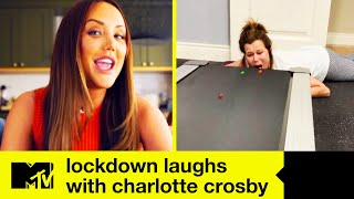 We might not be able to go out-out, but Charlotte Crosby shows us that staying in-in doesn't have to be boring... Subscribe to MTV for more great videos and ...
