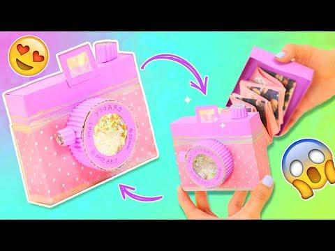 EASY CAMERA CARD TUTORIAL | DIY Scrapbook |  Boyfriend Gift ideas ✂️ Craftingeek EN