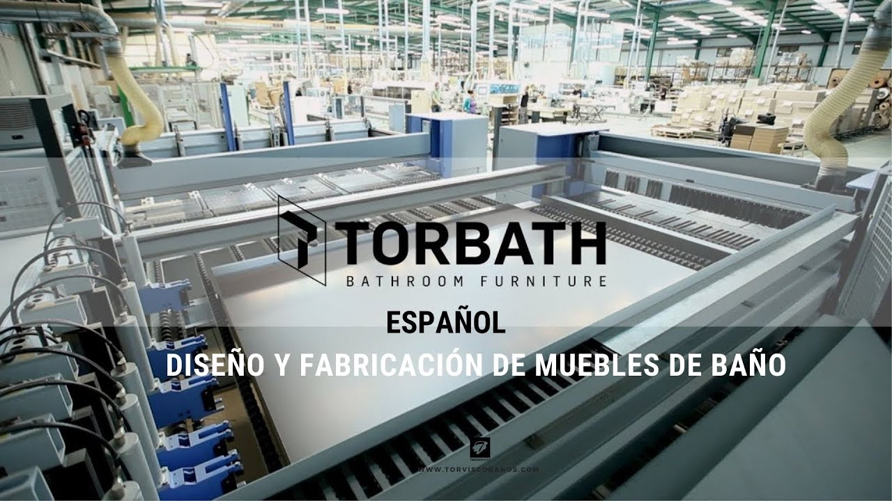 Torbath bathroom furniture dise o y fabricaci n de for Fabricacion de muebles mdf