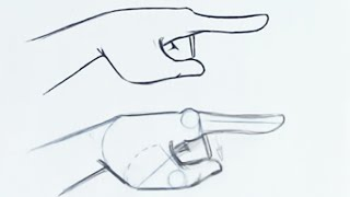 How to Draw a Hand Expression - Easy