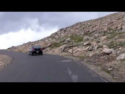 Driving the Highest Paved Road in North America (Mt Evans, C
