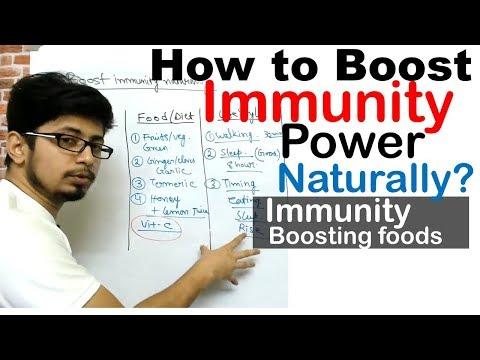 How to boost immunity power   Immunity boosting foods