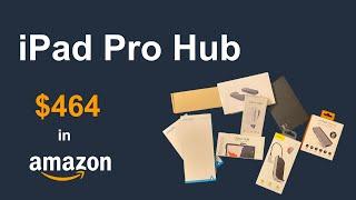 花$464买了十个USB C拓展坞   iPad Pro U…