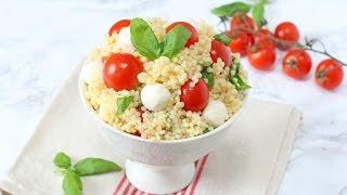 Caprese Cous Cous Salad