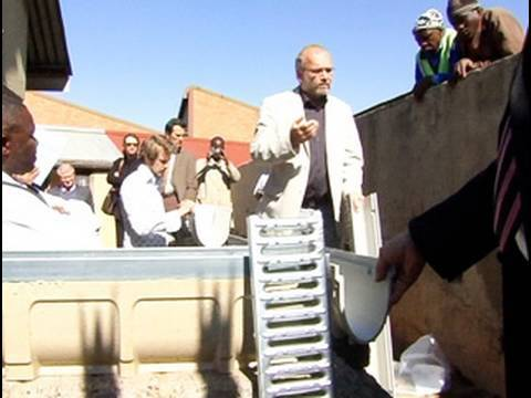 German company donates equipment to Soweto training