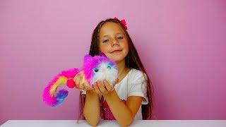 Pomsies Unboxing/Pomsie Pets Review/Распаковка игрушки котенка Помсис/Lol lil sisters/ Кукла Лол