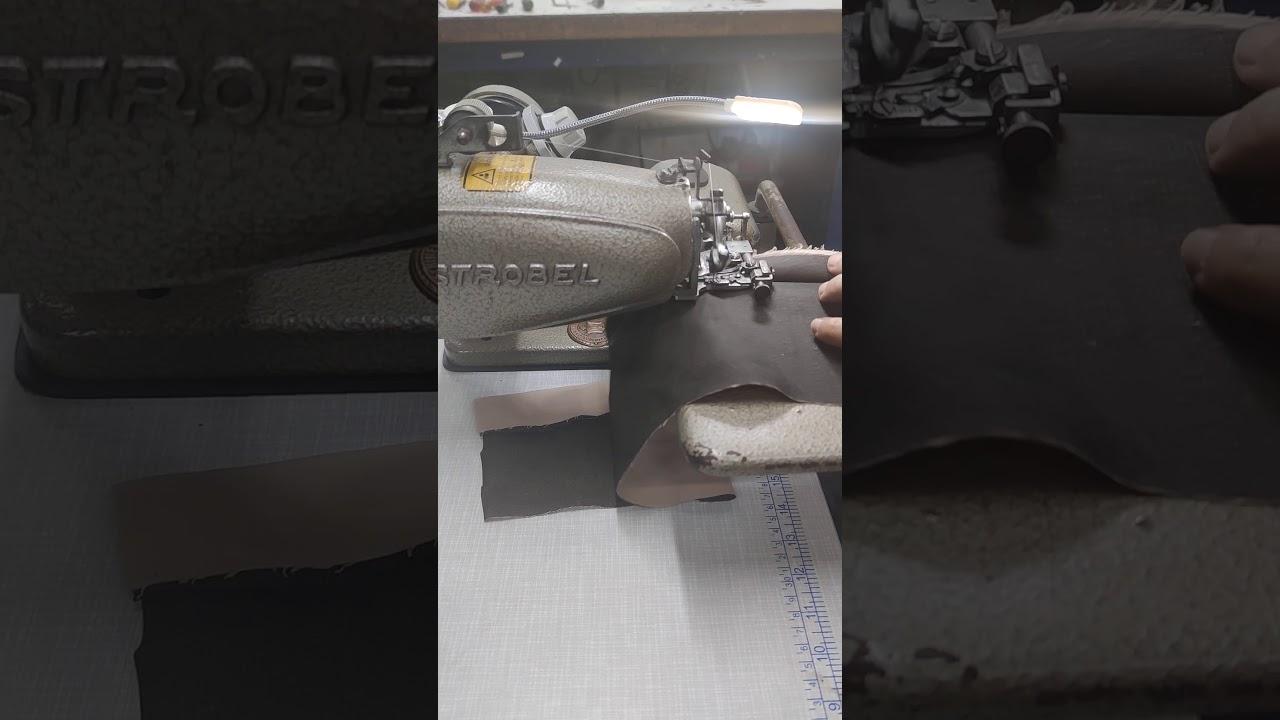 Strobel etek baskı (klapa) makinası.