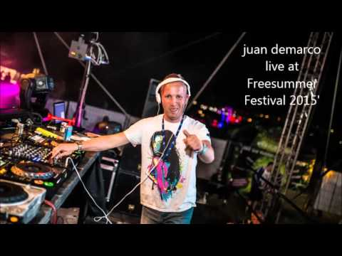 Juan Demarco live @ Free Summer Festival 2015' Kosice, Slovakia