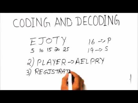 Coding And Decoding Tricks