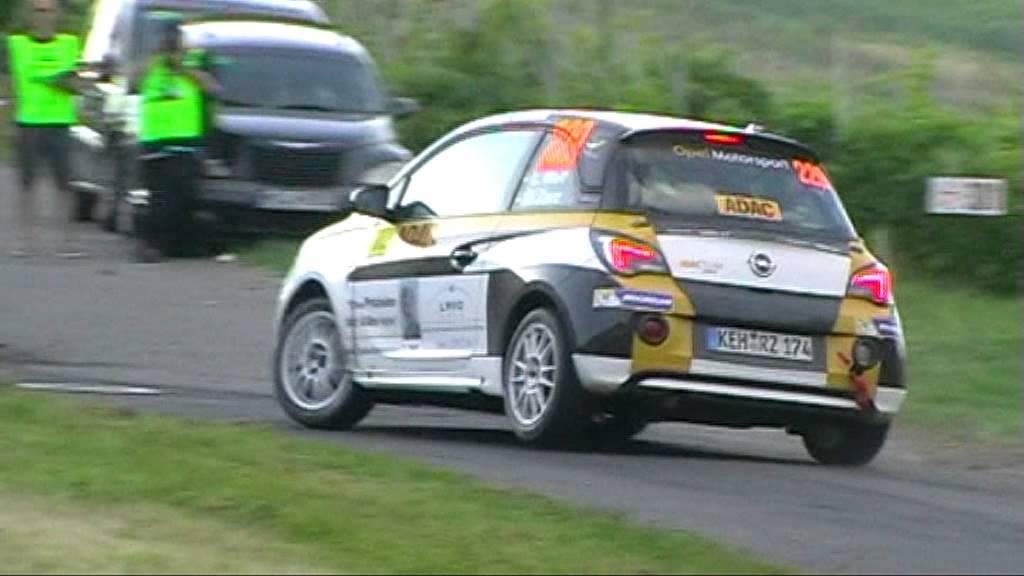 opel adam cup deutschland rallye 2013 youtube. Black Bedroom Furniture Sets. Home Design Ideas