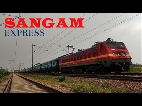 [5 IN 1] Compilation of Meerut City/Dehradun - Allahabad SANGAM Express