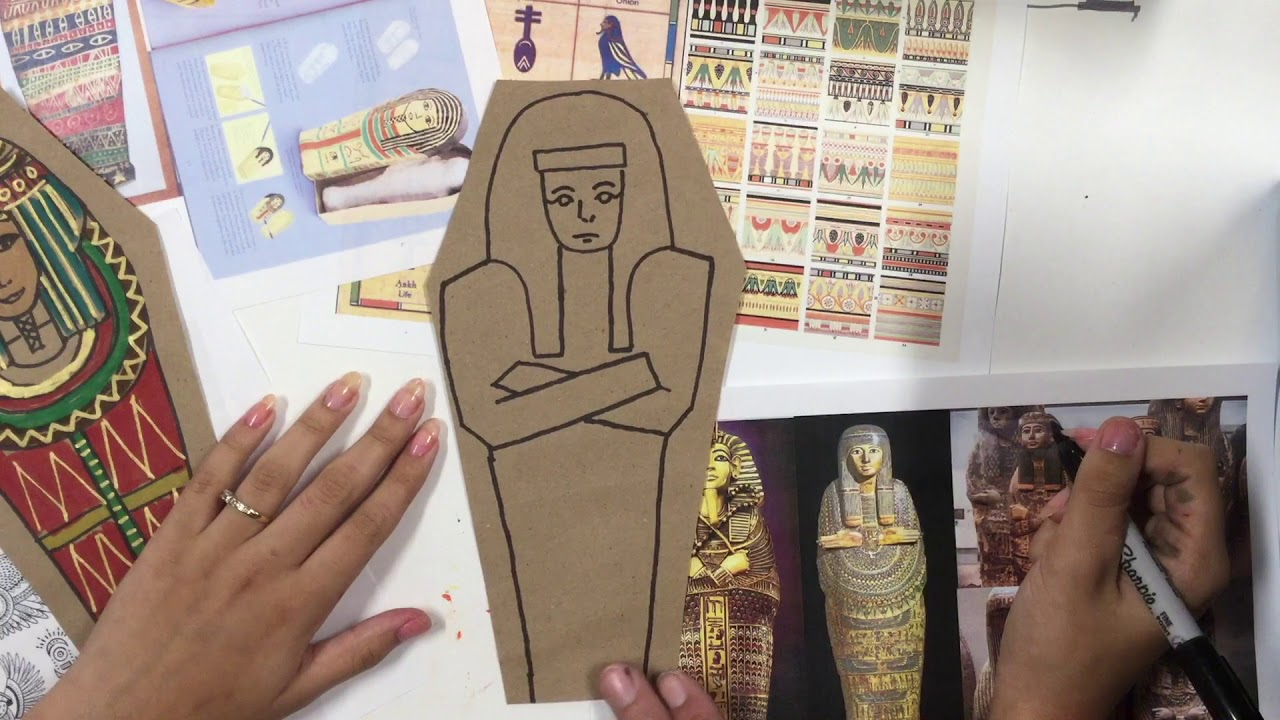 Sarcophagus Drawing Youtube