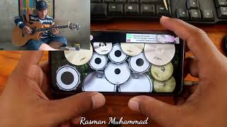 Bengawan Solo Alip Fingerstyle (Cover Real Drum)