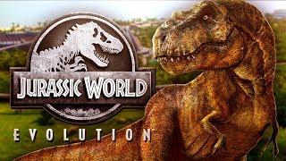 DINOSAUR RAMPAGES! - Jurrasic World Evolution Gameplay