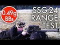 100 meters - NOVRITSCH SSG24 Range Test
