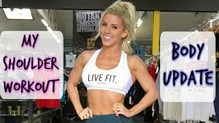 Not a Good Idea | Shoulder Workout | Body Update | Girly Gains