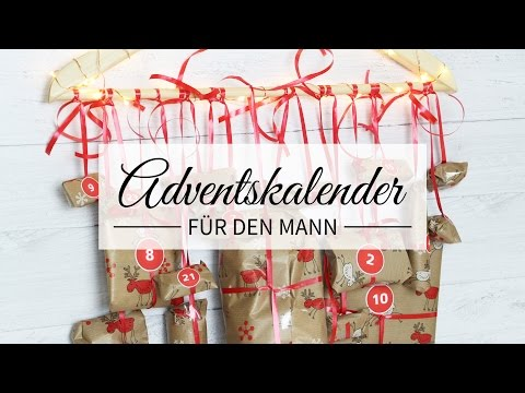 DiY ♥ Adventskalender - für den Mann