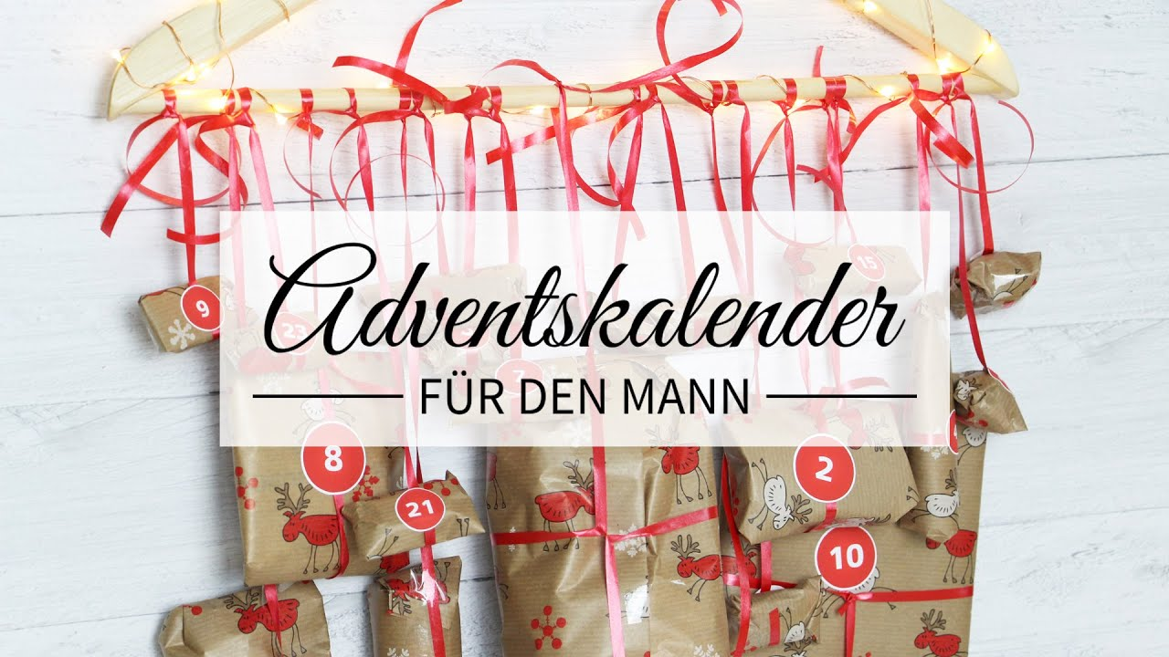 Diy adventskalender f r den mann youtube for Basteln fa r freund