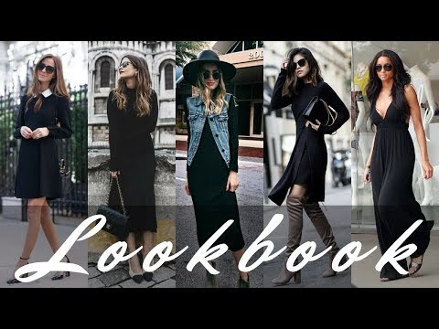50 Cute Black Dress Outfits | How to Wear a Black Dress