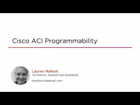 Cisco ACI Programmability | Pluralsight