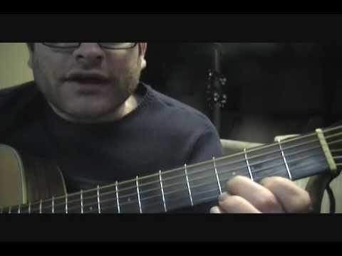 """How to play """"Hold Me Now"""" on acoustic guitar by Thompson Twins"""
